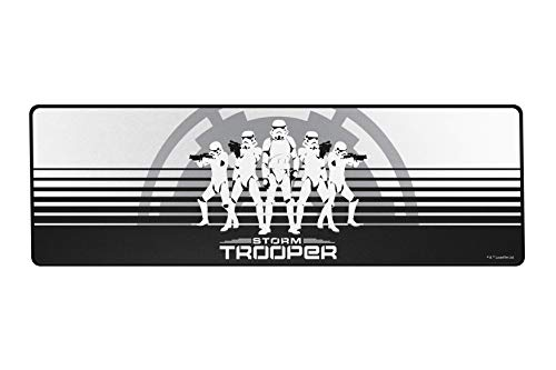 Trooper Base - Razer Goliathus Speed (Extended) Gaming Mousepad - [Stormtrooper Limited Edition]: Smooth Gaming Mat - Anti-Slip Rubber Base - Portable Cloth Design - Anti-Fraying Stitched Frame