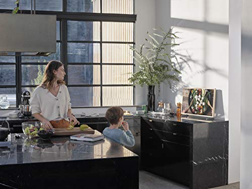 SAMSUNG 32-inch Class FRAME QLED LS03 Series - FHD Dual LED Quantum HDR Smart TV with Alexa Built-in (QN32LS03TBFXZA, 2020 Model)
