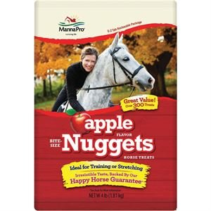 Peppermint Nuggets (Dover Saddlery Manna Pro Bite-Size Nuggets - 4 lb - Peppermint)