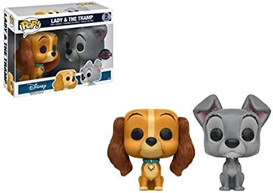 Funko Disney Lady /& The Tramp Two Pack Exclusive POP