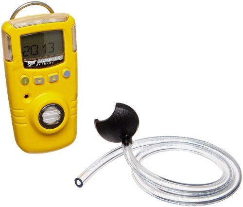 BW Technologies GAXT-M-DL GasAlert Extreme Carbon Monoxide (CO) Single Gas Detector, 0-1000 ppm Measuring Range, Yellow by BW Technologies
