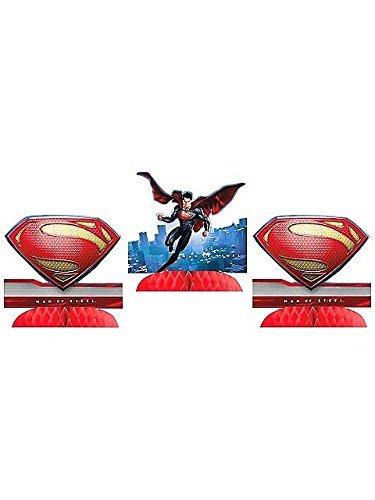 Hallmark Superman Man of Steel Centerpieces (3ct) -