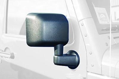 Bestop 51260-01 HighRock 4X4 Black Replacement Mirror Set for Jeep Wrangler JK