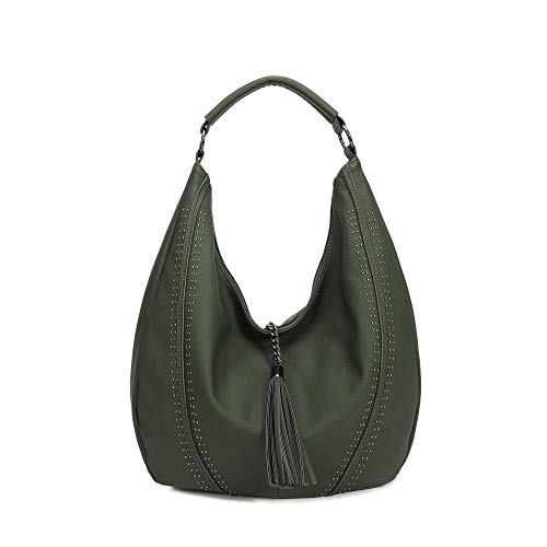 Green hobo bag