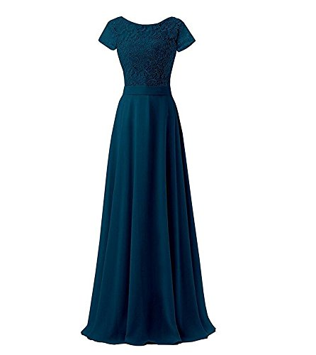 KA Beauty - Vestido - para mujer Teal