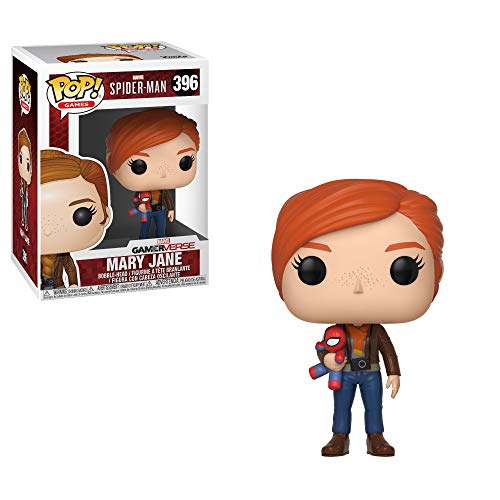 Funko Pop!- Mary Jane w/Plush Figura de Vinilo (30682)