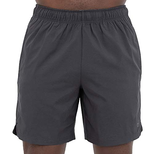 Layer 8 Men's Hybrid All Purpose Stretch Woven Athletic Shorts (Small, Obsidian Chambray) ()