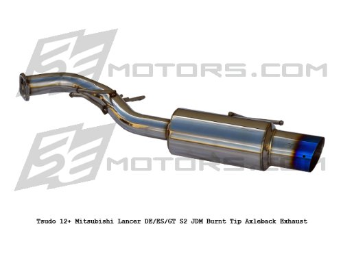 - Mitsubishi Lancer 2012 13 14 15 16 4dr 5dr De / Es / Gt Tsudo S2 Burnt Tip Axleback Exhaust