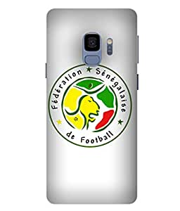 ColorKing Football Senegal 08 White shell case cover for samsung S9