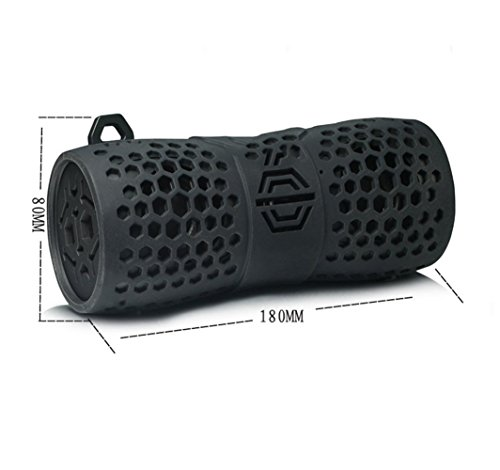QAZWSX Portable Bluetooth Speaker,Wireless Waterproof Bass Sound,Speakers,Outdoor,Riding,On Foot Carabiner Speakers by QAZWSX (Image #1)
