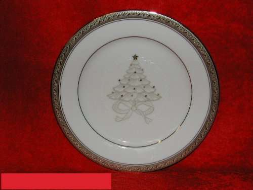 - Noritake Crestwood Platinum #4166 Holiday Accent Plate(s)