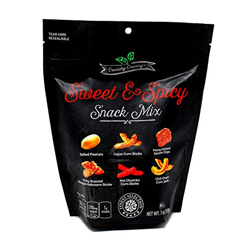 Sweet and Spicy Nut and Snack Mix by Sweet Cravings, 7 oz