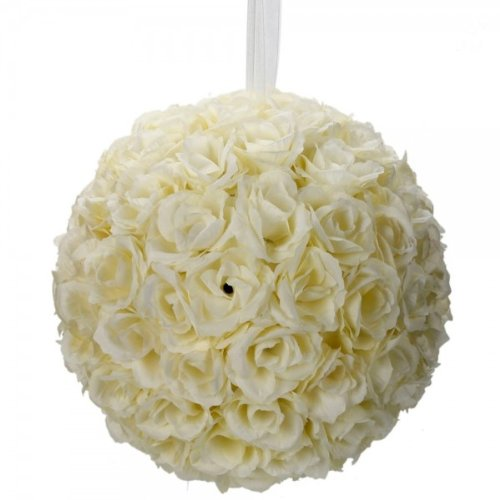 Artificial False Rose Silk Flowers Wedding Garden Decor Decoration White - 5