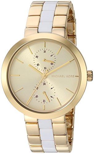 Michael Kors Women's Garner Gold-Tone Watch MK6472
