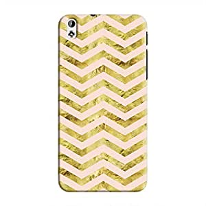 Cover It Up - Gold Pink Tri Stripes Desire 816 Hard case