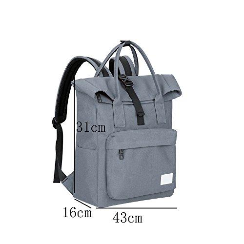 Student Dhfud Black Fashion Backpack Shoulder Fresh Men Casual Travel Bag twzqErw