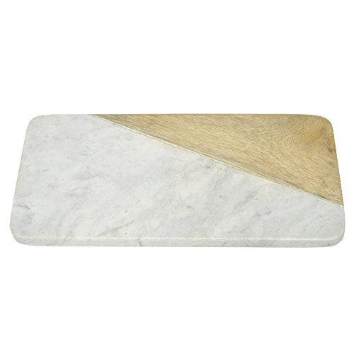 Three Hands Corporation 44393 Rectangle Marble Cutting Bo...