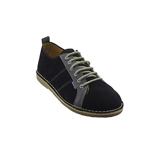 R906FP - Zapato deportivo negro - gris