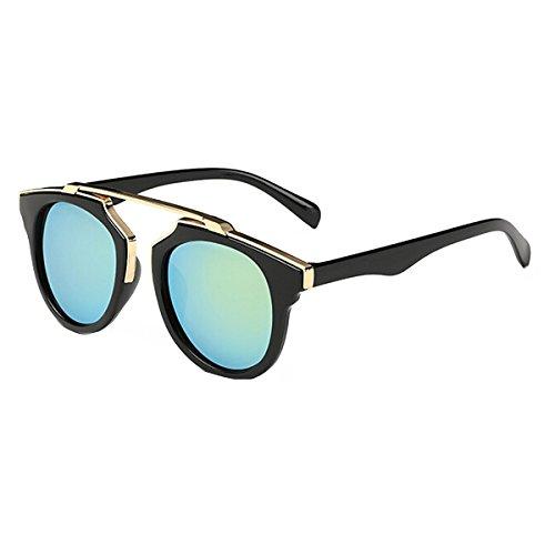 UNIQUEBELLA Lunettes de soleil Femme UV400 85-93#6 Vert 8bY2O8R24