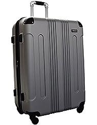 Kemyer Series 650 Hardside Luggage Spinner Wheeled Medium Suitcase 24-inch