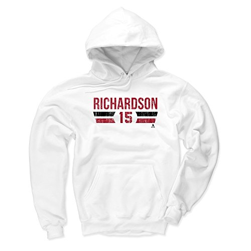 - 500 LEVEL Arizona Coyotes Men's Hoodie - XXX-Large White - Brad Richardson Font R