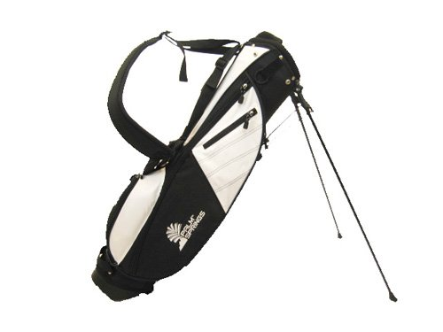 Palm Springs Sunday Golf Bag w Stand White Black Misc.