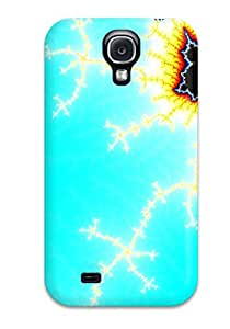 Lucas B Schmidt's Shop 2015 G1D7AAJ756VL8DDL New Arrival Case Cover With Design For Galaxy S4- Abstract Fractal