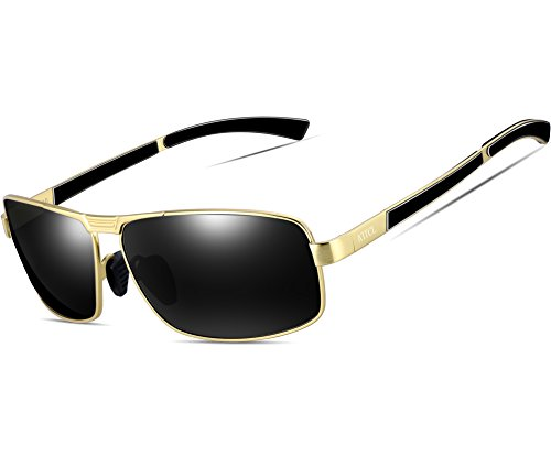b5ed50fce6 Jual ATTCL Men s Metal Frame Driving Sport Polarized Sunglasses For ...