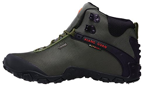 High Water Trekking Resistant Hiking Outdoor Oxford GUAN Green XIANG Boots Men's Top qtR8Y7
