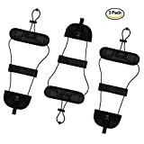 Bag Bungee, Add a bag Luggage Strap Belt Suitcase Bag Strap Bungee Set of 3 Easy Bag Bungee Prime (3 Packs)