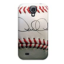 Cute Appearance Cover/tpu YeSlGCX2782WFdJD Derek Jeter Baseball Case For Galaxy S4