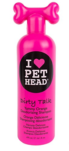 - The Company of Animals Pet Head Dirty Talk Deodorizing Shampoo 16.1oz