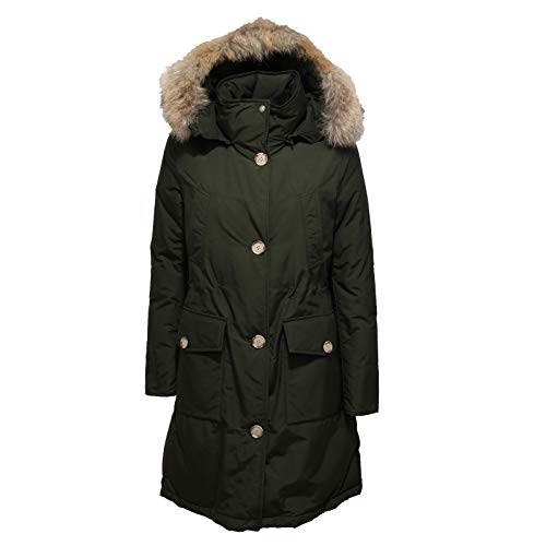 Long Arctic Ladies Rosin Parka Woolrich Green Hc zC5wUqdx