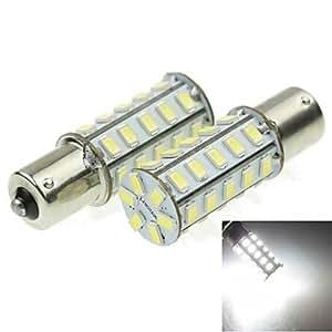 115620W 36x 5730SMD 800–1200LM 6000–6500K luz blanca lámpara led para Auto de Turn de lámpara (un par/AC12–16V)