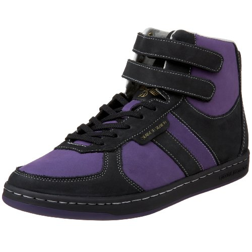 Lo Dicoco The Sneaker - Creative Recreation Men's Dicoco High-Top Sneaker,Black/Grape,8 D US