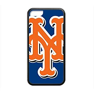 LINGH new york mets Hot sale Phone Case for iPhone 5c Black