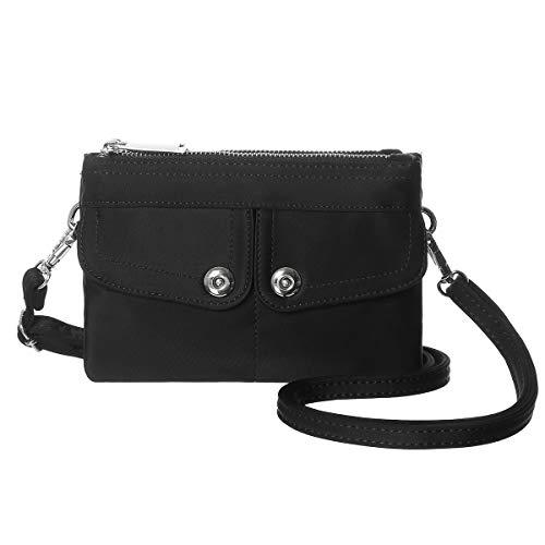 Handbag Shoulder Nylon Wallet Small Crossbody Purse Black Crossbody Bag Mini Women xA4BwZ8q8