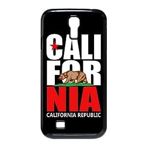 CALL FOR NIA CALIFORNIA REPUBLIC Bear Unique Durable Hard Plastic Case Cover for SamSung Galaxy S4 I9500 Custom Design Fashion DIY