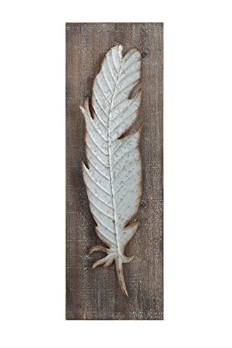 9 75 29 75 Decor Metal Feather