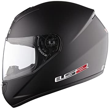 Amazon.es: Casco de la motocicleta LS2 FF351 Mono casco integral (XL, Mate negro)