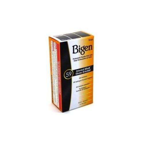 Cheap Bigen Powder Hair Color #59 Oriental Black .21 oz. (Case of 6) supplier