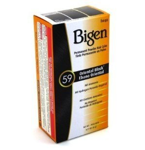 (Bigen Powder Hair Color #59 Oriental Black .21 oz. (Case of 6))