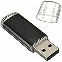 WeiYun New Metal 16GB USB 2.0 Flash Memory Drive Stick Pen Thumb U-Disk For Windows/Mac (Black)