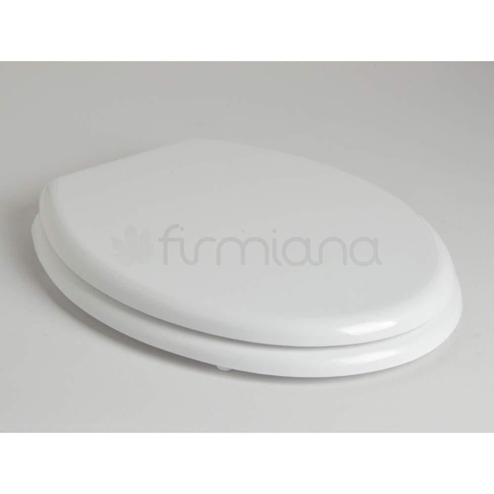 Horganica Wc Sitz, weiß in Polyesterharz für die Linie Iseo vom Hersteller Alfa