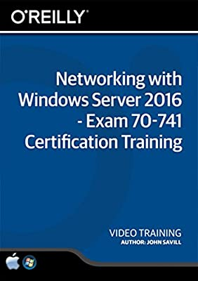 Networking with Windows Server 2016 - Exam 70-741 Certification Training - Training DVD
