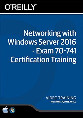 Networking with Windows Server 2016 - Exam 70-741 Certification Training - Training DVD