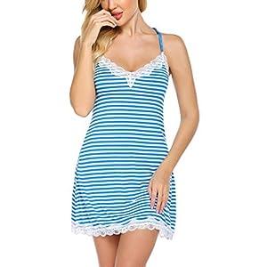 Best Epic Trends 41qNuBvMNcL._SS300_ Avidlove Gowns for Women Cute Sleepwear Sexy Nighty Lace Negligee Lingerie