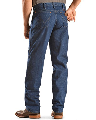 Wrangler Men's Original Cowboy Cut Relaxed Fit Jean, Blue, (Fit Cowboy Cut Jeans)