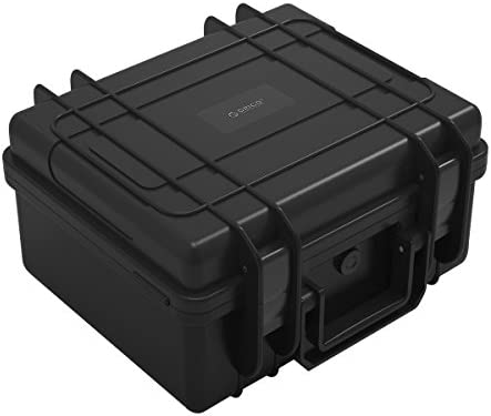 """External Hard Drive Case For 3.5/"""" HDDs Protective Storage Box Grey Computers"""