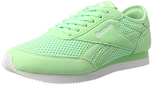 Reebok Royal Classic Jog 2bb, Zapatillas de Trail Running Para Mujer Verde (Mint Green / White)